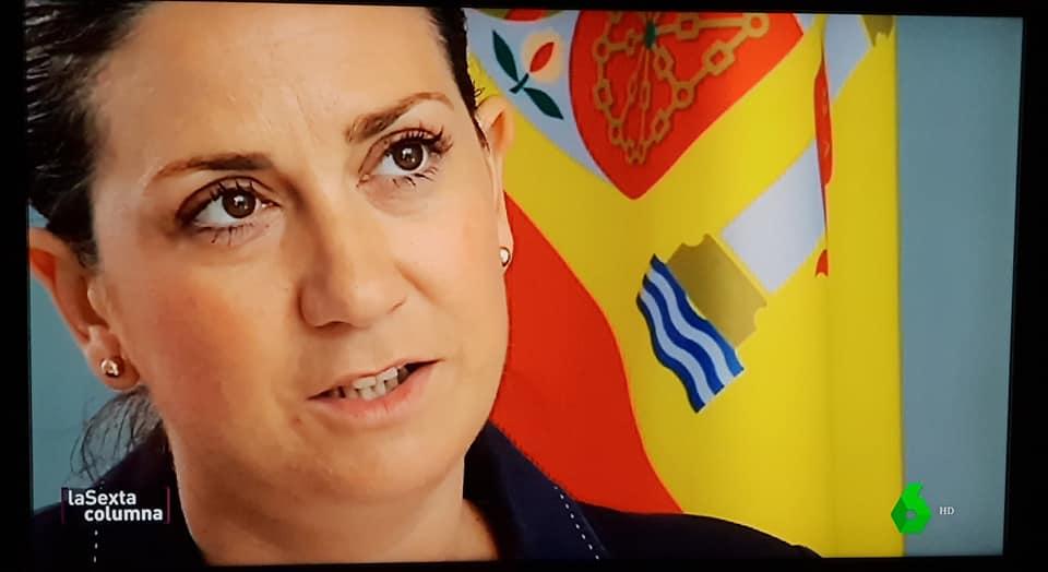 Patricia Fernández, defiende en el programa La Sexta Columna, la unidad de España