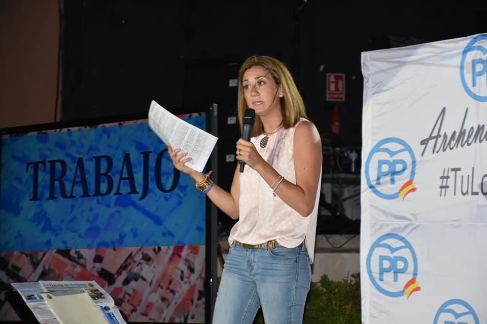 Patricia Alcaldesa de Archena