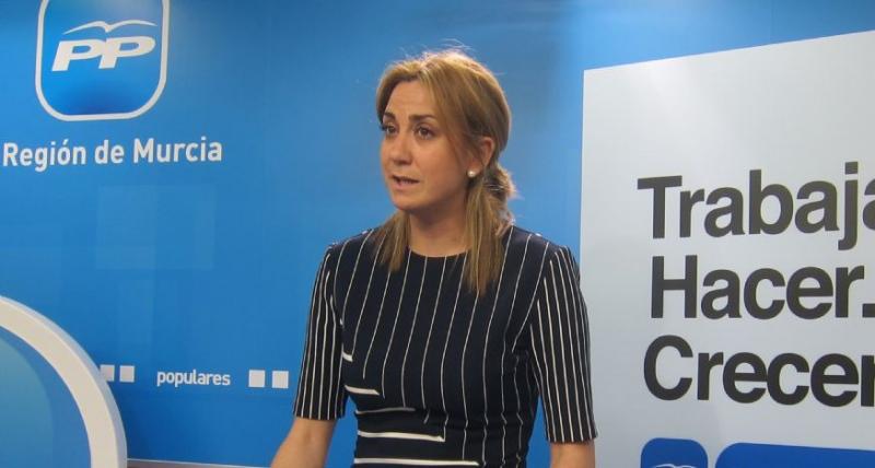 """Patricia Fernández: """"El PP, que preside Casado, es el único que puede consensuar un Plan Hidrológico Nacional que garantice el agua para todos los españoles"""""""