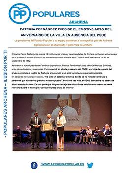 Boletín Nº 1 del PP de Archena