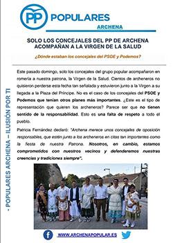 Boletín Nº 2 del PP de Archena